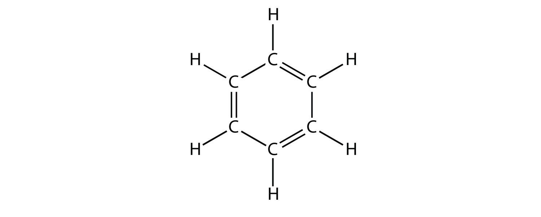 how to write molecular formula for skeletal formula