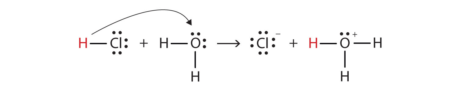 Electron Dot Structure For Hcl As the hydrogen ion donor  HCl